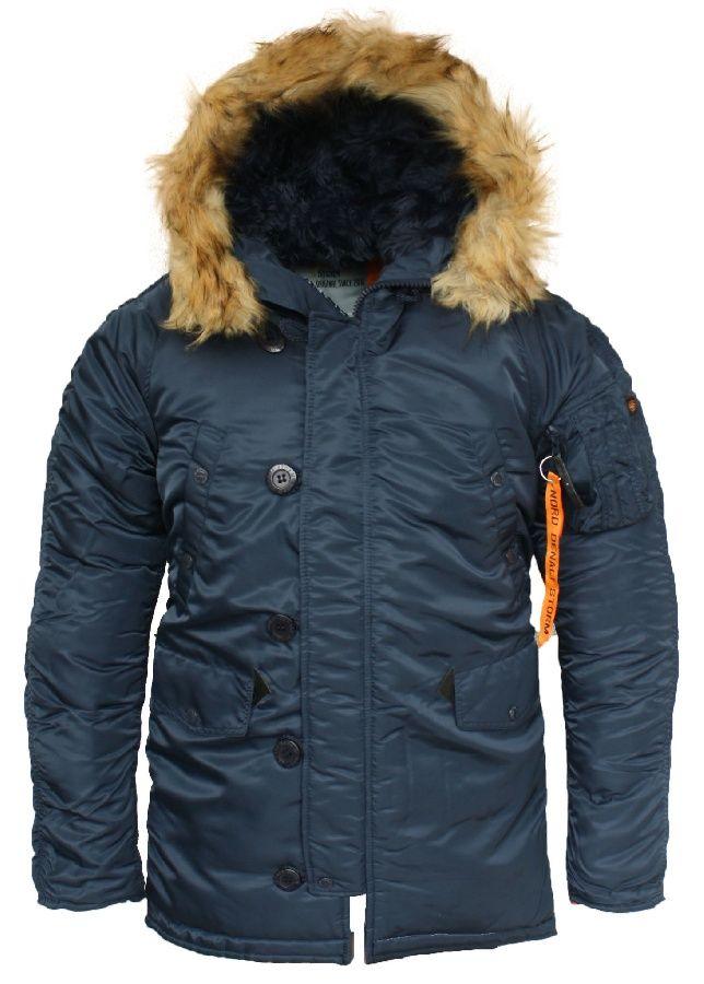 Куртка Nord Storm «N3B Husky Denali» Rep.Blue/Orange
