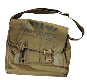Сумка Alpha Ind. Cargo Canvas Courier Bag