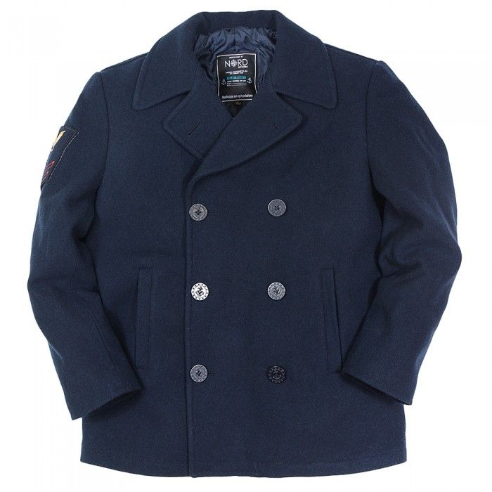 Бушлат Nord Storm «PEA COAT COMPASS» Blue