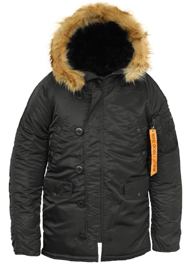 Куртка Nord Storm «N3B Husky Denali» Black/Orange