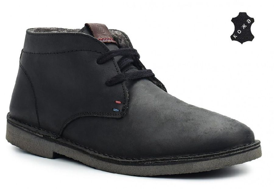 Ботинки Wrangler «Churlish C.H. Fur» Black